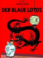 Tim und Struppi: Der blaue Lotus Cover
