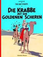 Die Krabbe mit den goldenen Scheren Cover
