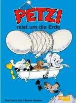 Petzi reist um die Erde Cover