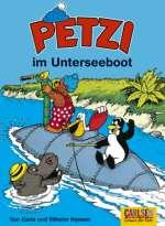 Petzi im Unterseeboot Cover
