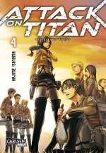 Attack on Titan (4) Cover