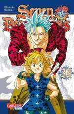 Seven Deadly Sins 33 Cover