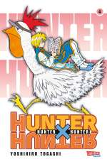 Hunter x hunter 4 Cover