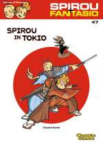 Spirou in Tokio Cover