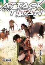 Attack on Titan (20) Cover