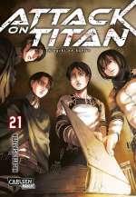 Attack on Titan (21) Cover