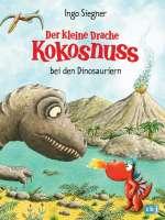 Der kleine Drache Kokosnuss bei den Dinosauriern Cover