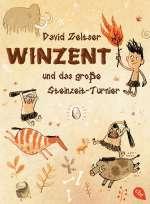 Winzent und das grosse Steinzeit-Turnier Cover
