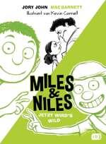 Miles & Niles Bd. 3 - Jetzt wird's wild Cover