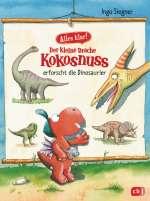 Der kleine Drache Kokosnuss erforscht die Dinosaurier Cover