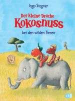 Der kleine Drache Kokosnuss bei den wilden Tieren Cover