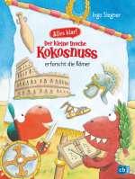 Der kleine Drache Kokosnuss erforscht die Römer Cover