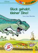 Glück gehabt, kleiner Dino! Cover
