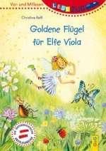 Goldene Flügel für Elfe Viola Cover