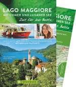 Lago Maggiore mit Comer und Luganer See Cover
