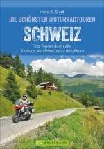 Die schönsten Motorradtouren Schweiz Cover