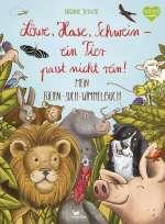 Löwe, Hase, Schwein - ein Tier passt nicht rein! Cover