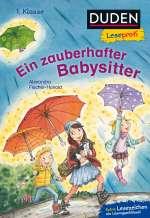 Duden Leseprofi – Ein zauberhafter Babysitter, 1. Klasse Cover