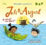 Juli und August - Krokodil über Bord! Cover