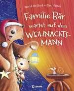 Familie Bär wartet auf den Weihnachtsmann Cover