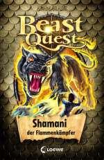 Beast Quest Shamani der Flammenkämpfer Cover
