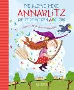 Die kleine Hexe Annablitz - Die Reise mit dem ABC-Zug Cover