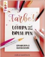 Farbe! Lettern mit dem Brush Pen Cover