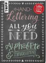 Handlettering all you need - Alphabete & Schmuckelemente Cover