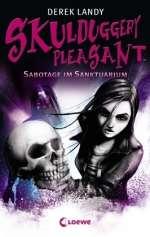 Sabotage im Sanktuarium  Cover