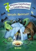 Vorsicht, Abenteuer! Cover