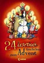 24 Lesetiger-Geschichten zum Advent Cover