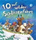 10 auf wilder Schlittenfahrt Cover