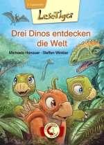 Drei Dinos entdecken die Welt Cover