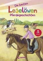 Die besten Leselöwen Pferdegeschichten Cover