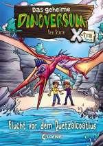 Flucht vor dem Quetzalcoatlus Cover