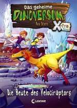 Das geheime Dinoversum Xtra - Die Beute des Velociraptors Cover