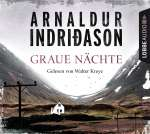 Arnaldur Indridason, Graue Nächte (4CDs) Cover
