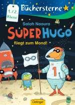 Superhugo fliegt zum Mond! Cover