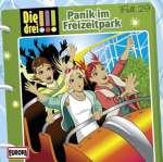 Die drei !!! Panik im Freizeitpark   Fall (29) 1CD Cover
