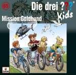 Die drei ??? Kids : Mission Goldhund (CD) Cover
