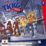 TKKG Junior : Giftige Schokolade (3) Cover