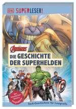 Die Geschichte der Superhelden Cover