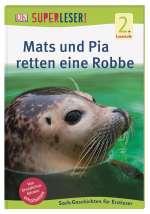 Mats und Pia retten eine Robbe Cover