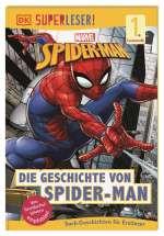 SUPERLESER! Marvel Spider-Man Die Geschichte von Spider-Man Cover