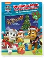 PAW Patrol: Weihnachten mit den Fellfreunden - Ein Adventskalenderbuch Cover