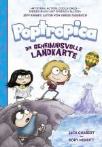 Die geheimnisvolle Landkarte (Poptropica 1) Cover