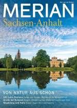 Sachsen-Anhalt (Merian 2018/9) Cover
