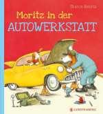 Moritz in der Autowerkstatt / Cover