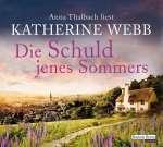 Anna Thalbach liest Katherine Webb, Die Schuld jenes Sommers (6 CDs) Cover