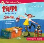 Pippi findet einen Spunk und eine weitere Geschichte (CD) Cover